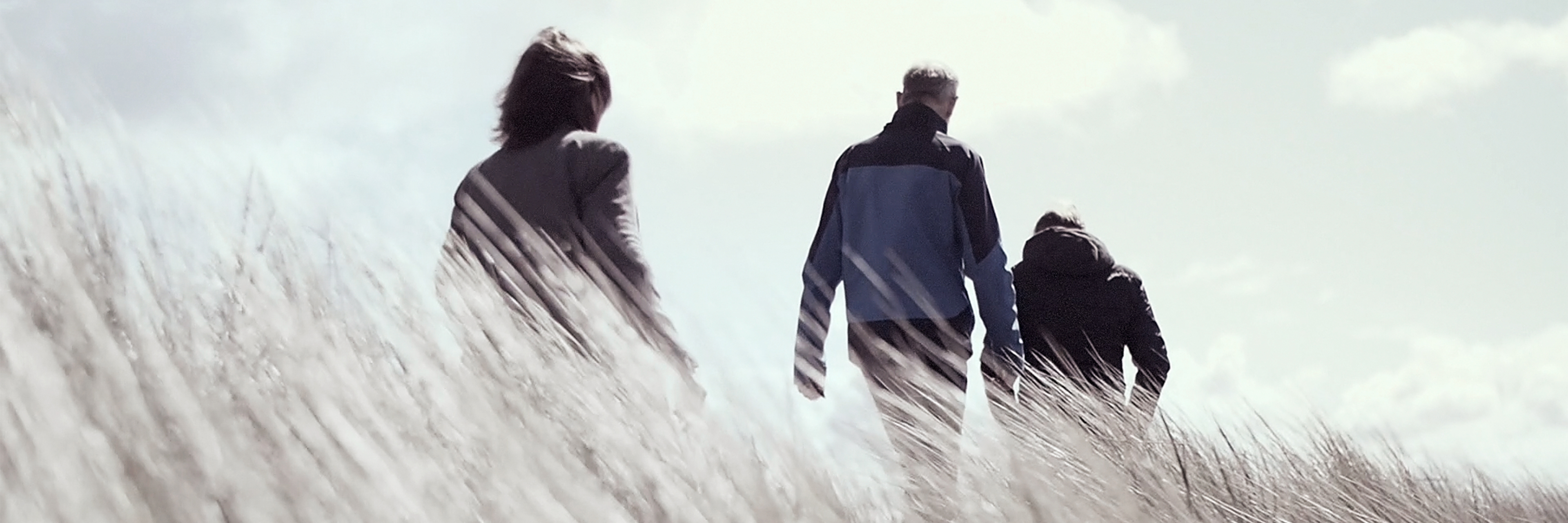 Jan-Paul Bron, Jean-Paul Janse en Renee Bron-Slis in de duinen