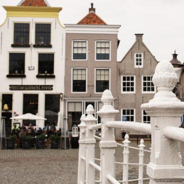 Goedereede - Markt & Toepad (vierkant)