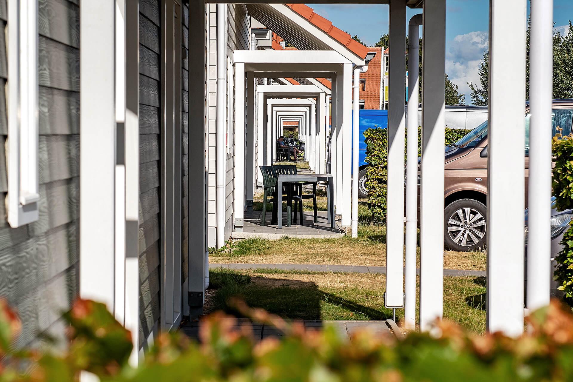Leisure Architectuur - Aqua Delta (Bruinisse) - vakantiewoningen doorkijk