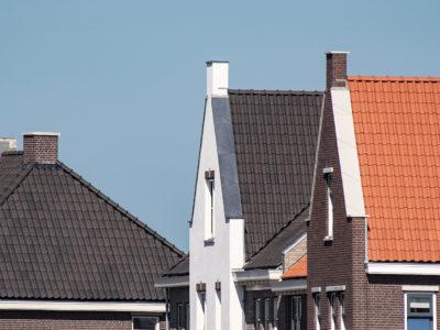 Nieuwe Oostdijk (Goedereede) woningdaken
