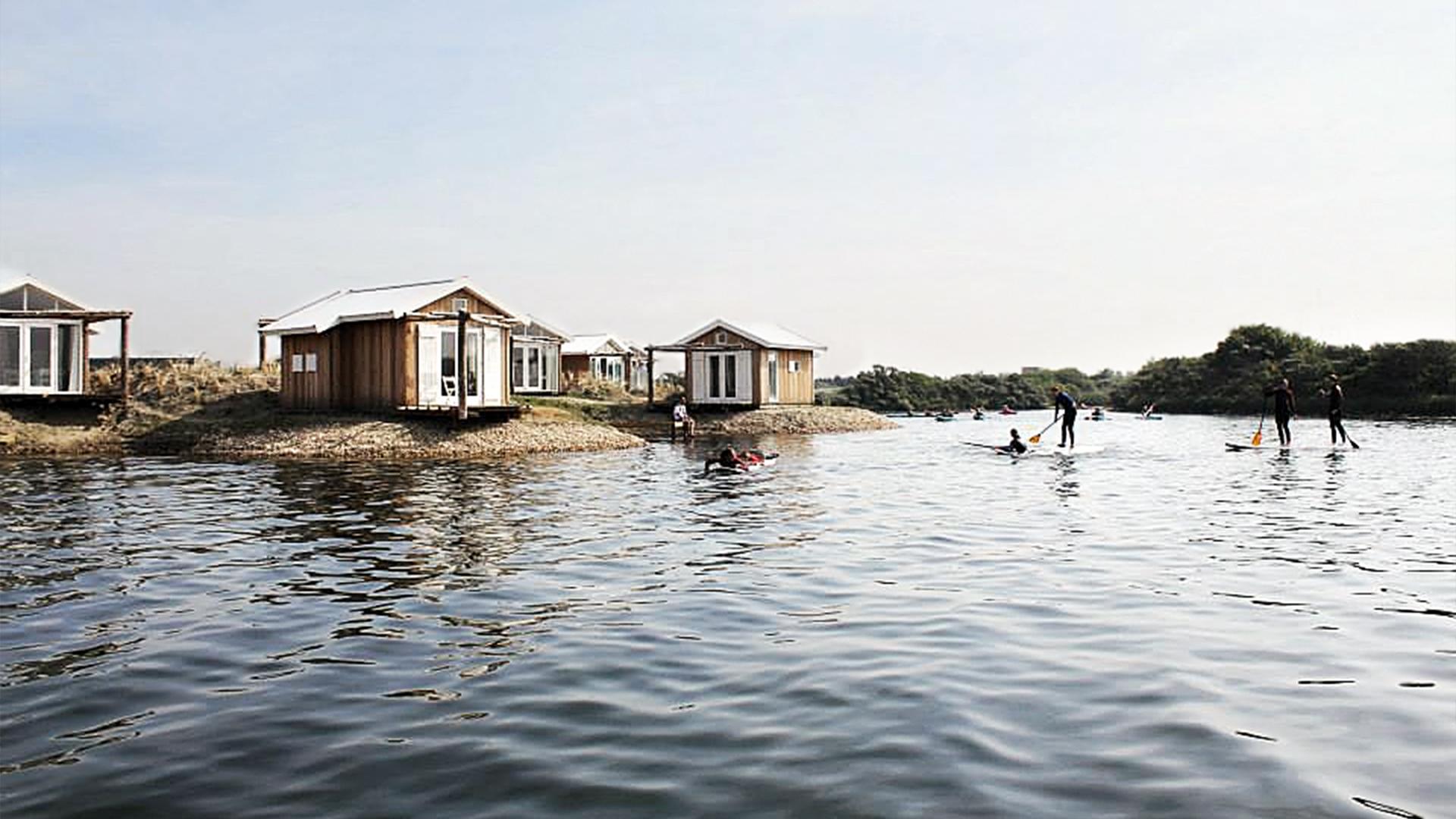 Beach Lodges Zeil- en Surfcentrum (Brouwersdam) - watersport