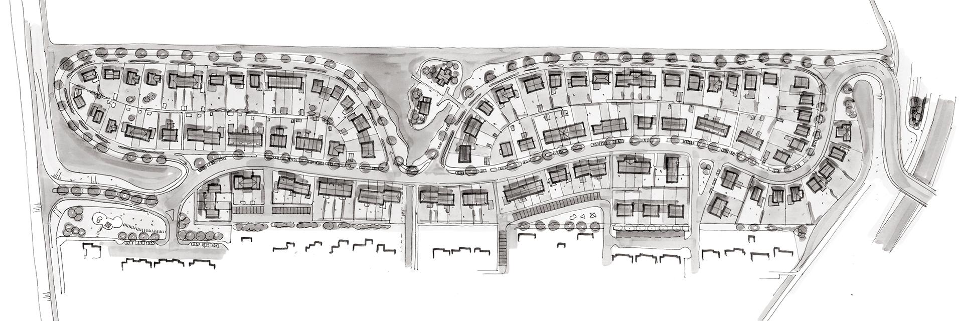 Nieuwe Oostdijk Goedereede - Situatie schets