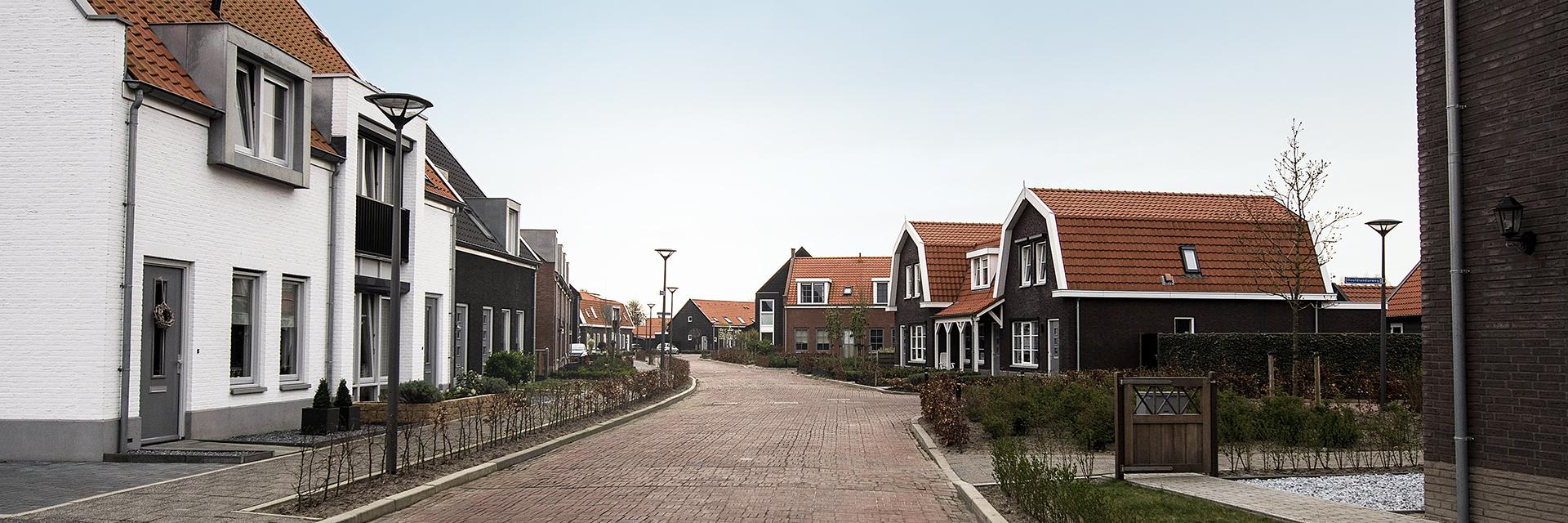 Welgelegen (Ouddorp) woningbouw - straatbeeld panorama