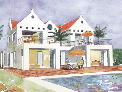 Coral Estate (Curacao) - architectuur planconcept