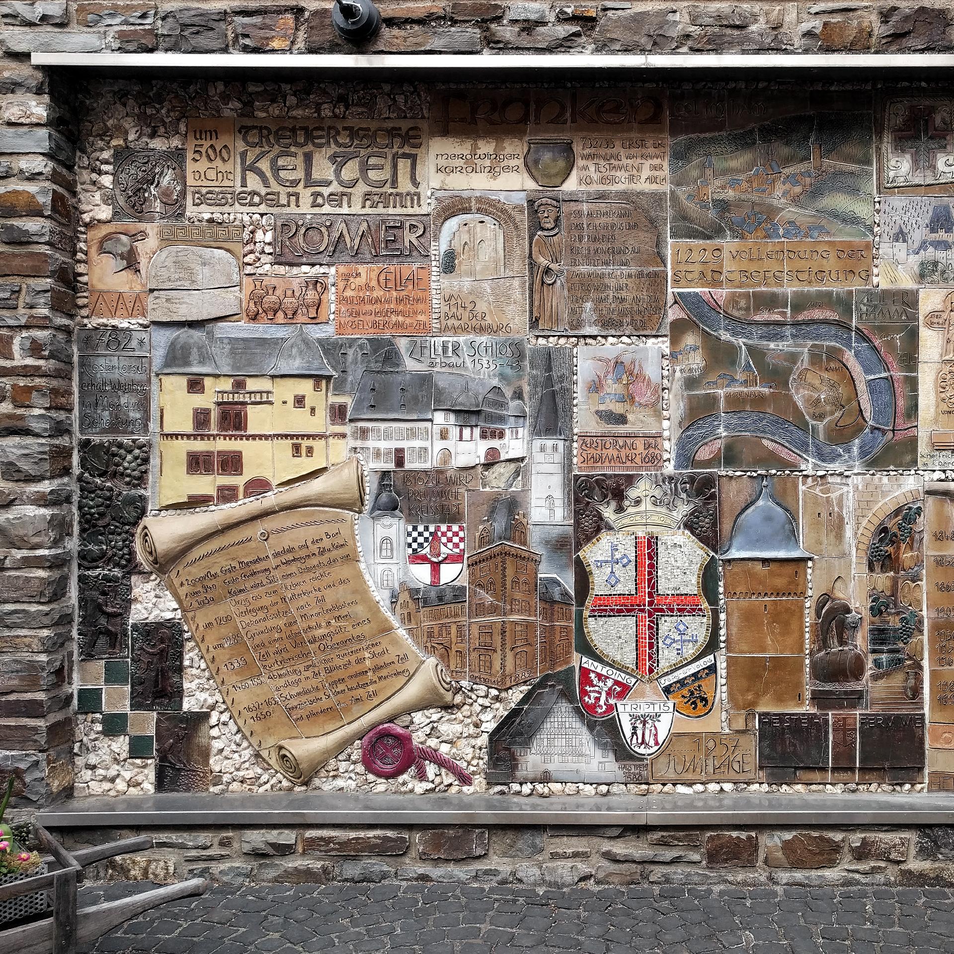 Trier-Koblenz (Duitsland) - geschiedenis als tegelwerk