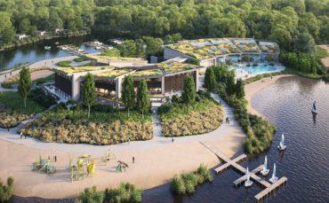 'People Planet Prosperity'-filosofie leidraad bij de ontwikkeling van het (Center Parcs) Terhills Centrumgebouw